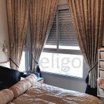 וילון בתפירה ועיצוב בבדי גאקארד יוקרתיים למראה מלכותי עיצוב והתקנת וילונות חדר שינה אליגו וילון גאקארד